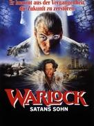 Warlock - German Movie Poster (xs thumbnail)