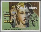 She Demons - Movie Poster (xs thumbnail)