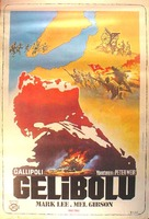 Gallipoli - Turkish Movie Poster (xs thumbnail)
