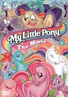 My Little Pony: The Movie - British DVD movie cover (xs thumbnail)