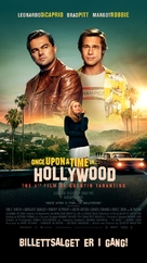 Once Upon a Time in Hollywood - Danish Movie Poster (xs thumbnail)