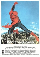 """""""The Amazing Spider-Man"""" - Finnish VHS cover (xs thumbnail)"""