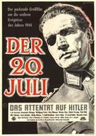 20. Juli, Der - German Movie Poster (xs thumbnail)