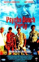 Psycho Beach Party - German VHS cover (xs thumbnail)