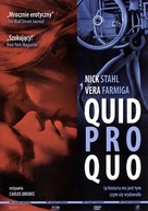 Quid Pro Quo - Polish Movie Cover (xs thumbnail)