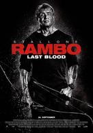 Rambo: Last Blood - Norwegian Movie Poster (xs thumbnail)