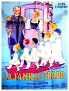 Die Trapp-Familie - French Movie Poster (xs thumbnail)