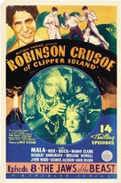Robinson Crusoe of Clipper Island - Movie Poster (xs thumbnail)