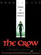 The Crow - French Movie Poster (xs thumbnail)