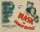 The Mask of Dimitrios - Movie Poster (xs thumbnail)