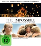 Lo imposible - German Blu-Ray movie cover (xs thumbnail)