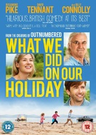 What We Did on Our Holiday - British DVD cover (xs thumbnail)