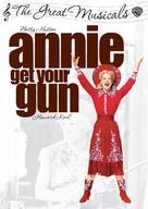 Annie Get Your Gun - Australian DVD movie cover (xs thumbnail)