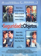 The Safety of Objects - Spanish Movie Poster (xs thumbnail)