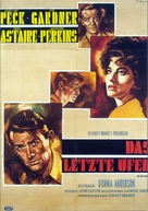 On the Beach - German Movie Poster (xs thumbnail)