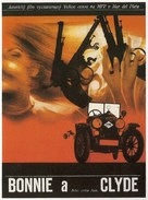Bonnie and Clyde - Czech Movie Poster (xs thumbnail)