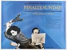Vivement dimanche! - British Movie Poster (xs thumbnail)
