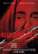 A Quiet Place - Latvian Movie Poster (xs thumbnail)