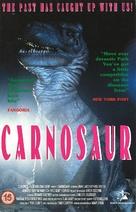 Carnosaur - British VHS movie cover (xs thumbnail)