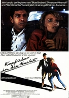 Into the Night - German Movie Poster (xs thumbnail)