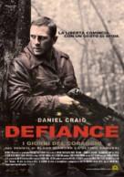 Defiance - Italian Movie Poster (xs thumbnail)