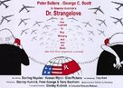 Dr. Strangelove - British Movie Poster (xs thumbnail)