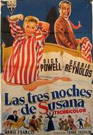 Susan Slept Here - Argentinian Movie Poster (xs thumbnail)