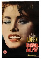 La donna del fiume - Spanish Movie Poster (xs thumbnail)