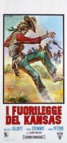 Kansas Territory - Italian Movie Poster (xs thumbnail)