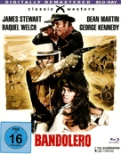 Bandolero! - German Blu-Ray cover (xs thumbnail)