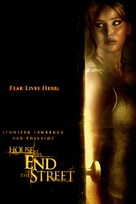 House at the End of the Street - DVD cover (xs thumbnail)