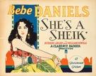 She's a Sheik - Movie Poster (xs thumbnail)