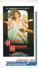 Hospital Massacre - VHS movie cover (xs thumbnail)