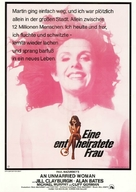 An Unmarried Woman - German Movie Poster (xs thumbnail)