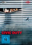 Civic Duty - German Movie Cover (xs thumbnail)