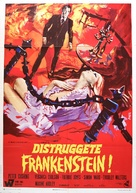 Frankenstein Must Be Destroyed - Italian Movie Poster (xs thumbnail)