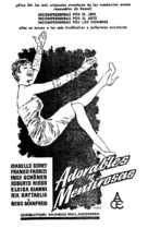Adorabili e bugiarde - Spanish Movie Poster (xs thumbnail)