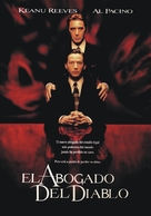 The Devil's Advocate - Argentinian DVD movie cover (xs thumbnail)