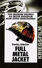Full Metal Jacket - German VHS cover (xs thumbnail)