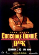 Crocodile Dundee in Los Angeles - German Movie Poster (xs thumbnail)