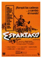 Spartacus - Spanish Movie Poster (xs thumbnail)