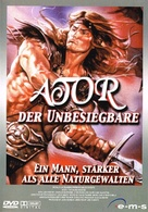 Ator 2 - L'invincibile Orion - German DVD cover (xs thumbnail)