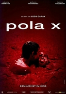Pola X - German Movie Poster (xs thumbnail)