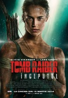 Tomb Raider - Romanian Movie Poster (xs thumbnail)
