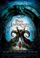 El laberinto del fauno - Danish Movie Poster (xs thumbnail)