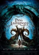El laberinto del fauno - Danish Movie Poster (xs thumbnail)