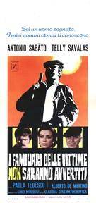 I familiari delle vittime non saranno avvertiti - Italian Movie Poster (xs thumbnail)