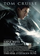 Minority Report - Danish Movie Poster (xs thumbnail)