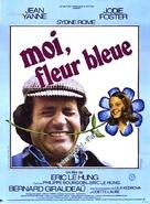 Moi, fleur bleue - French Movie Poster (xs thumbnail)