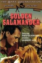 Golden Salamander - British Movie Cover (xs thumbnail)